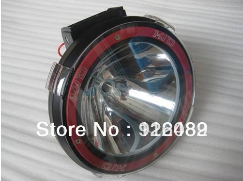 55W 7INCH HID XENON DRIVING LIGHT Sportlight Working light 4*4 mechanical cars,suvs,trucks(China (Mainland))