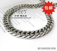 Fashion male necklace pure titanium ruggedness necklace coarse male kumgang necklace
