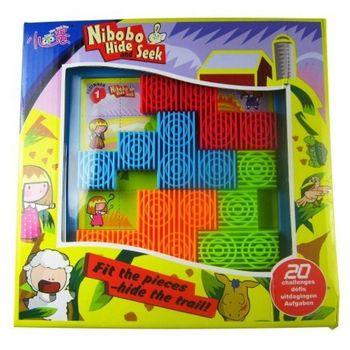 Nibobo hide seek puzzle toy milk baby 2 yakuchinone