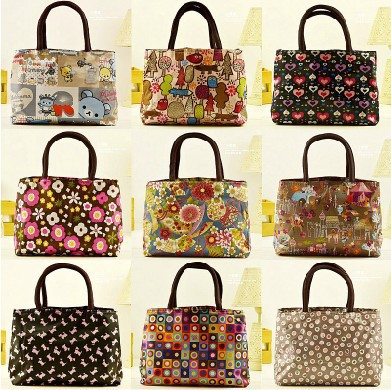 Wholesale.2013.Large size 22 designs handbag lunch bag totes lunch pouch box ping.fashion(China (Mainland))