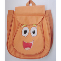 Wholesale DHL 20pcs Child Pre Backpack Shool Bag Orange Toddler Nylon Dora the Explorer Retail