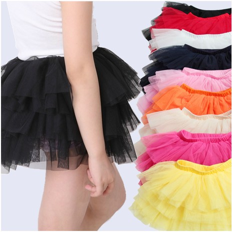 Summer miniskirt 6 candy color half-length dress tulle cake tulle dress soft cotton lining multicolor baby dress(China (Mainland))