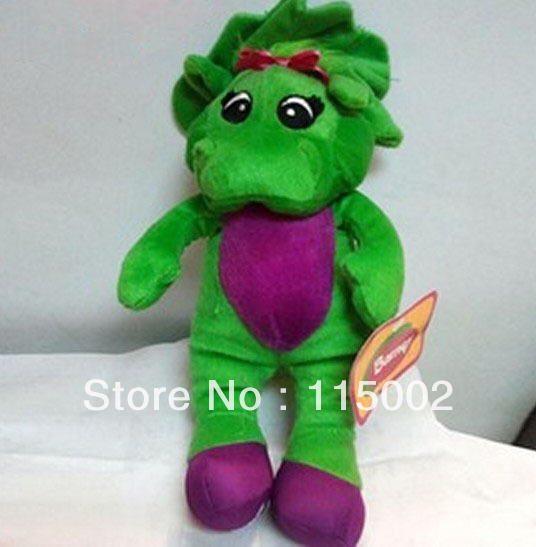 "Free Shipping EMS 20/Lot New Barney's Best Friend Baby Bop Plush Singing Doll 11"" (I LOVE U) Wholesale(China (Mainland))"