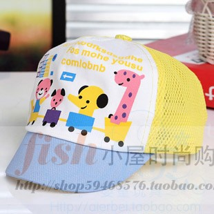 Free shipping Summer infant sun-shading summer hat cap sun hat male mesh cap