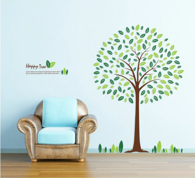 Wall stickers wallpaper the third generation wall stickers romantic wall tv background wall(China (Mainland))