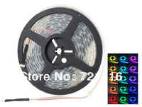 IP68 Waterproof 5M 5050 RGB 300 SMD LED Light Strip 60 LED/M + 44KEY IR Remote Controller +5A Power Supply, Free Shipping