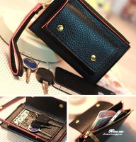 Korean Lovely envelope Purse Wallet Case for Samsung Galaxy S3,S2,Iphone 5,4S/4 ZGY7