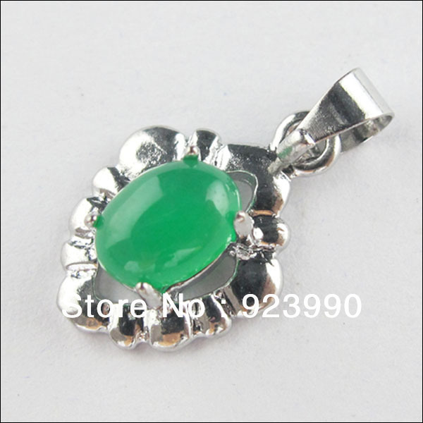 Free Shipping 2Pcs Malay Jade Gemstone Green Heart Charms Pendants Fit Necklace 12x17.5mm For Jewelry Making Craft DIY(China (Mainland))