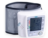 Free  shipping,   Home blood pressure meter PG accurate wrist automatic speech-800A3