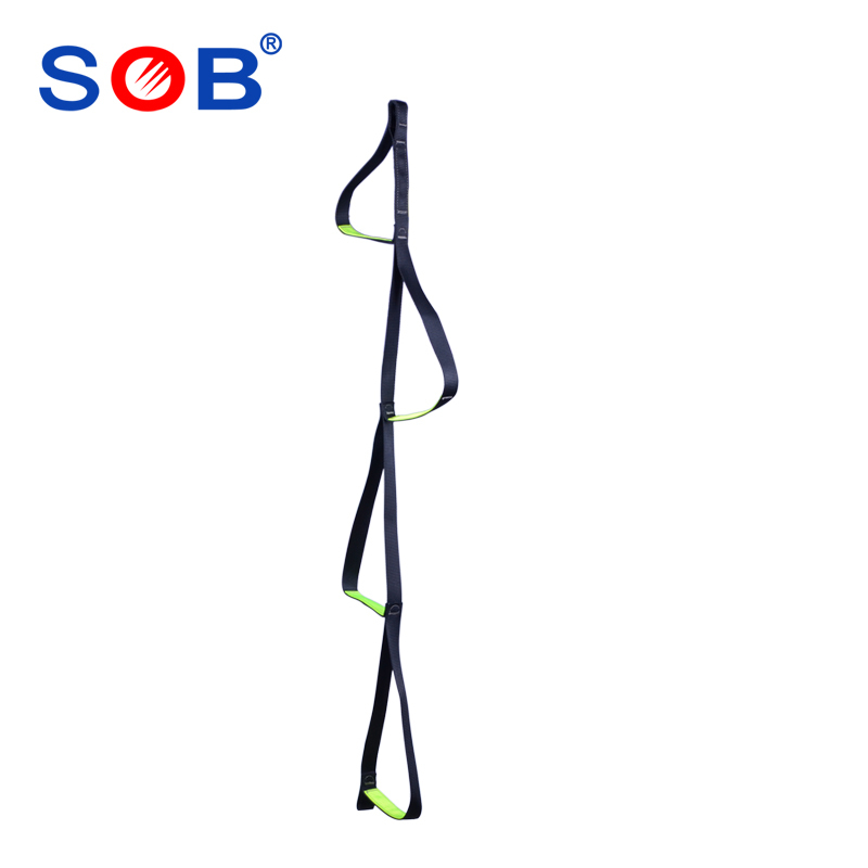 Free Shipping Sob sling hanging ladder pedal ladder pedal belt outdoor ratline ladder rope ladder rc25(China (Mainland))