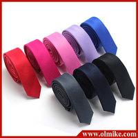 Wholesale 2013 new arrival man's multicolor business leisure ties,man fashion concise korean solid color tie C405