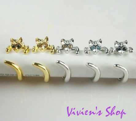 Wholesale 12pcs/Lot Free shipping Hot! Adjustable Lovely Cat Ring Animal Fashion Finger Ring R008(China (Mainland))