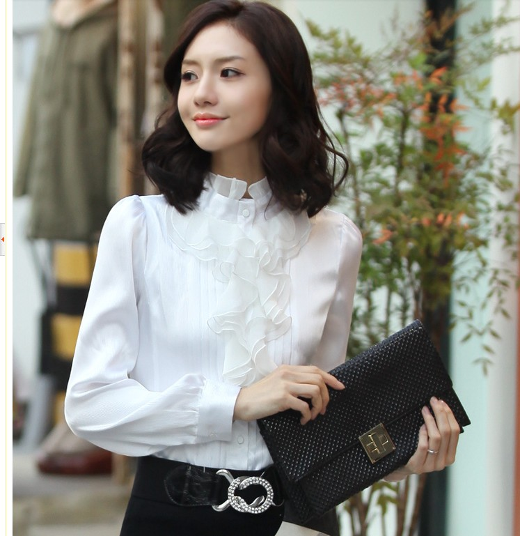 2013 FREE GIFT 2013 gentlewomen shirt 863(China (Mainland))