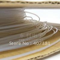 PTFE Heat Shrinkable Tube /1.5mm/Rohs/Transparent/High insulating Teflon heat shrinkable tube/Free shipping