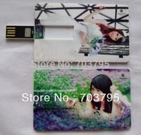 Wholesale Twist Card usb flash drive 1/2/4/8/16/32/64GB DHL free shipping usb flash disk