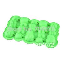 2015 Real Rushed Congelados Ice Cream Tools Forma De Gelo free Shipping Carpenterworm Shaped Ice Tray Mould (random Color) Cube