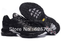 Free Shipping  Plus TN Women's Running Sport Footwear Sneakers Trainers Shoes - Black / Grey / Sliver