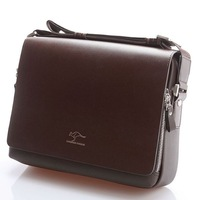 HOT Sale New Fashion Men PU Leather Totes Clutch Handbag Shoulder Bag Purse Briefcases