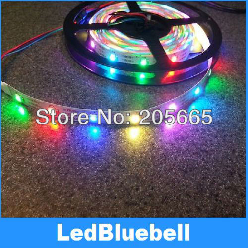 SMD 5050 LED Digital Strip Light With WS2811 Built In 5050 RGB LED Chips Non-Waterproof(China (Mainland))