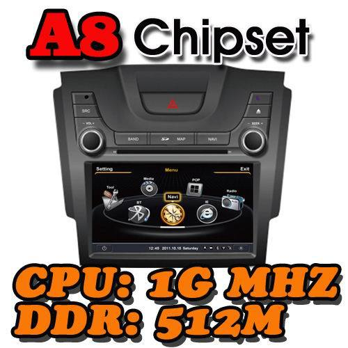 WITSON Super Fast A8 Chipset Dual-Core CPU:1GMHZ RAM:512M Car DVD Player With GPS Navigation For CHEVROLET S10 Free Shipping(China (Mainland))