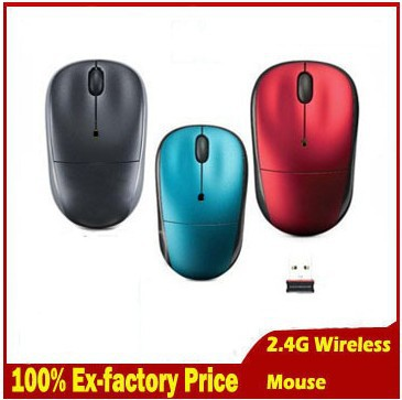 New Arrival 2.4G USB 2.0 optical Wireless1000 DPI Mouse Slim Mice 2.4G Receiver for Laptop PC Desktop(China (Mainland))