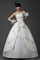 2013 elegant princess wedding dress brief sweet tube top 3008