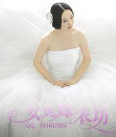 2013 quality wedding qi the bride wedding dress princess wedding dress puff skirt wedding dress