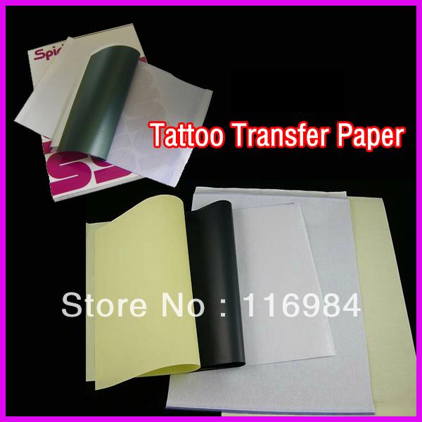10 stuks x tattoo transfer papier a4- kopiëren body art stencil ...