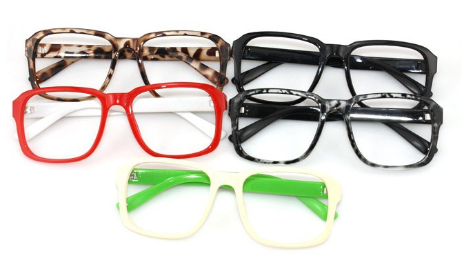 2013 New arrival plastic optical frame,plain eyewear frame, many colors cheap glasses frames 15pcs/lot(China (Mainland))