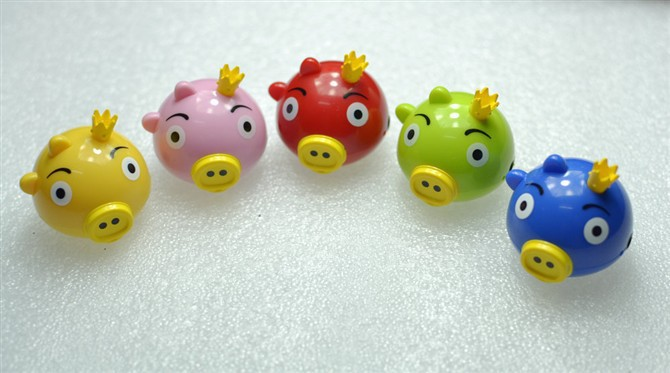 4000pcs/lot Cute Angry pig portable music Mp3 player for TF card with Retail Package, Free shipping, New Year gift(China (Mainland))