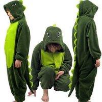 Wholesale.2013.Dinosaur Bodysuit coral fleece cartoon animal stitch pajamas night-robe