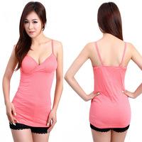 2013. V Neck Tank Tops spaghetti strap basice shirt women's's cotton top tank  4012