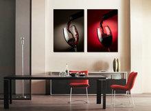 popular red art glass