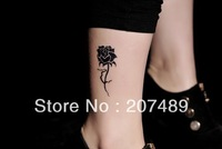 roses for lady girls Good quality Temporary tattoos Waterproof tattoo stickers body art Painting wholesale