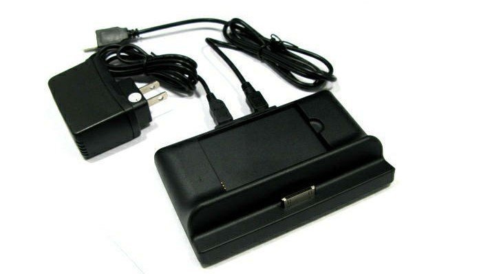 High Quality USB Dock Desktop Battery Charger Cradle Case For Dell Mini5 Streak Free Shipping DHL UPS HKPAM(China (Mainland))