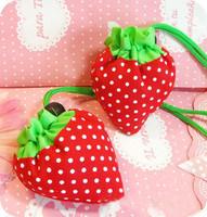 Strange new gift ideas gift wholesale and large capacity strawberry shopping bag