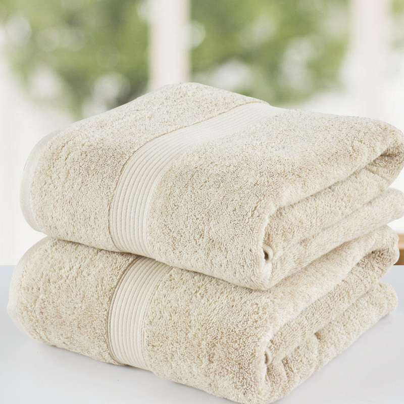 Vosges - 100% cotton plus size thickening absorbent towels plain beach towel sofa towel 85 165(China (Mainland))