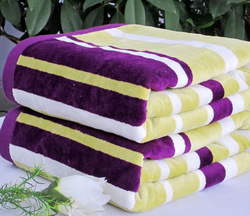 Limited edition ! cotton terry 100% soft color thickening bath towel beach towel(China (Mainland))