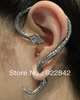 spirally-wound small fashion punk vintage style female stud earring ear
