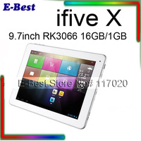9.7inch IPS Screen Dual Core Cortex A9 RK3066 1.6GHz Android 4.1 FNF ifive X Tablet PC 16GB 1GB WiFi Bluetooth