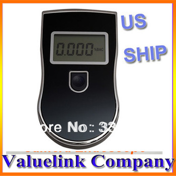 Police LED Digital Breath Alcohol Tester Breathalyzer  US Fast Free Shipping