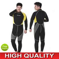 High quality 3mm Mens Full Neoprene Wetsuit for Diving, Swimming, Surfing, Windsurfing, Kitesurfing, Snorkelling & Fishing