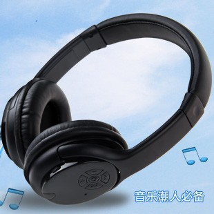 Wireless bluetooth card radio earphones headset mp3 fashion wireless bluetooth computer mobile phone headphones(China (Mainland))