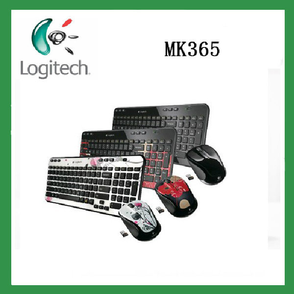 New arrival Original Genuine Logitech mk365 usb wireless computer combo mouse and keyboard set(China (Mainland))