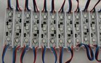 promotion!!! 20pcs/string DC12V WS2811 LED full color pixel module,IP68,0.72W