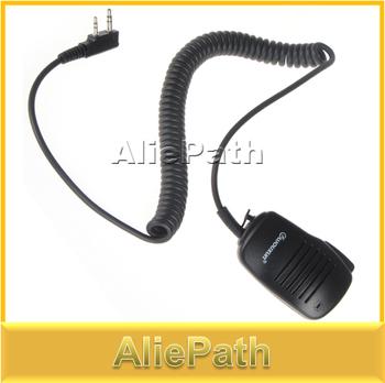 Waterproof 2-Pin Wouxun SMO-001 Remote Speaker Microphone Mic for Walkie Talkie Mini Two Way Radio