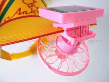 Back clip portable mini SOLAR FAN