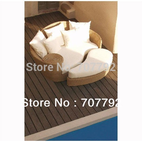 2013 NEW Style outdoor furniture-rattan daybed(China (Mainland))