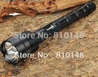 Free Shipping TrustFire 3T6 3800 Lumens 3 x CREE XM-L T6 5-Mode LED Flashlight Torch Lamp + Extendable Tube