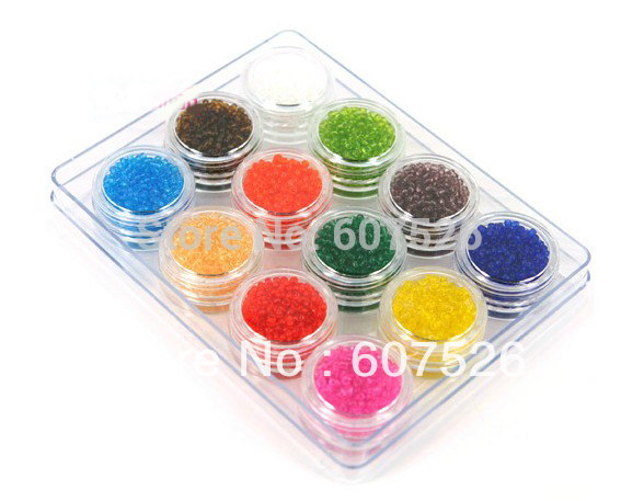 50g Mix Color Czech Seed beads 12 colors 2MM Fashion DIY Tube Loose Spacer glass beads garment accessories& jewelry findings New(China (Mainland))